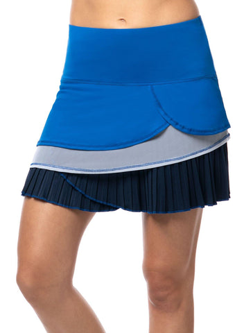 Lucky in Love Axis Point Pleated Scallop Skort (short)