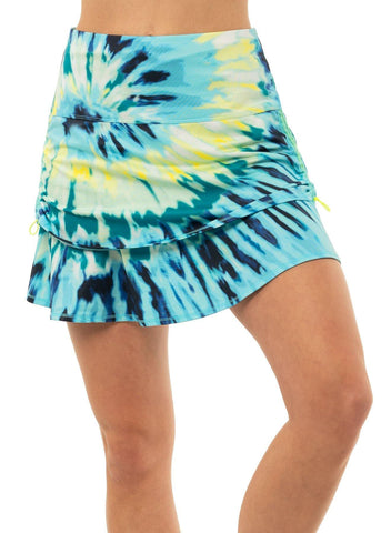 Lucky in Love Peace Out Ruche Skort (Short)