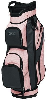 GloveIt Rose Gold Quilt Golf Bag - Gals on and off the Green