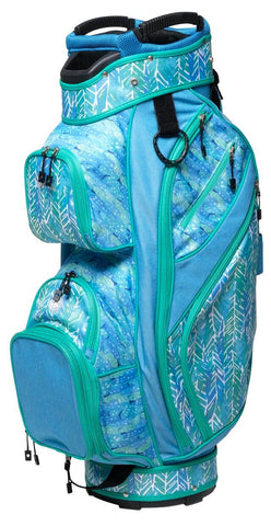 GloveIt 2021 Mystic Sea 15-Way Golf Bag - Gals on and off the Green
