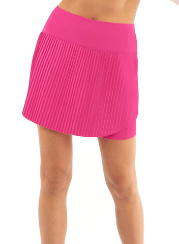 Lucky in Love Hi-Brid Pleated Skort (Short)