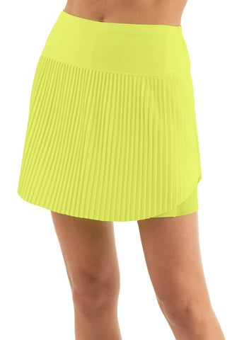 Lucky in Love Lace Yourself Hi-Brid Pleated Skort (Short)