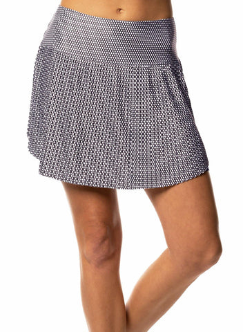 Lucky in Love Copacabana Rio Hi-Brid Pleated Skort (Short)