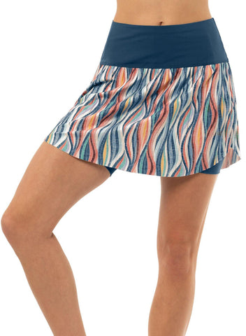 Lucky in Love A Stitch in Time Knit Happens Pleated Skort (Short)
