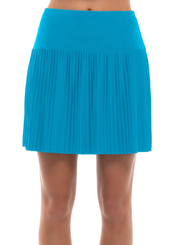 Lucky In Love Square Are You Hi-Brid Pleated Skort (Long) - 2 Colors