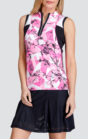 Tail Code Pink Esther Sleeveless Polo