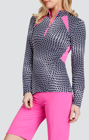 Tail Code Pink Georgina Long Sleeve Top