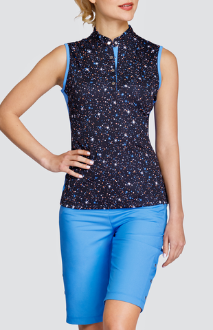 Tail Stargaze Estella Sleeveless Polo
