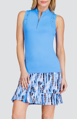 Tail Stargaze Anika Sleeveless Polo