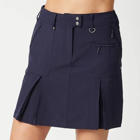 GGBlue Boca Skort Navy Long Length