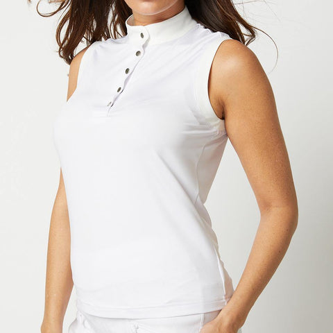 GGBlue Korrine Sleeveless White