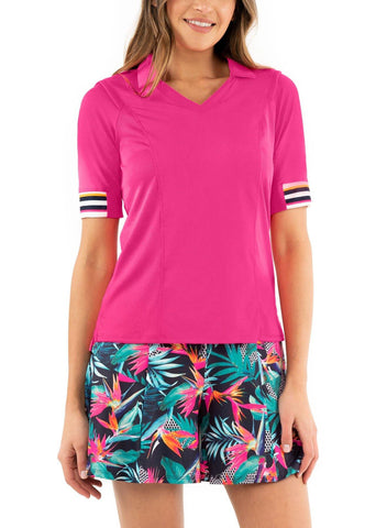 Lucky in Love Copacabana Nova Rib Short Sleeve