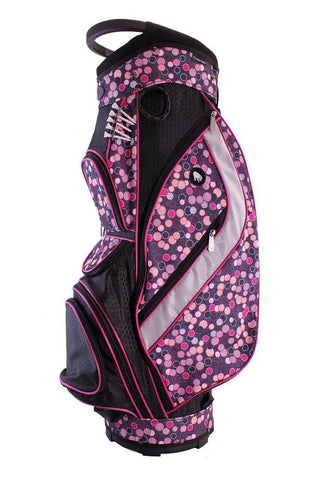 Hunter Nu Sport Galaxy Cart Golf Bag in Champagne Bubbles