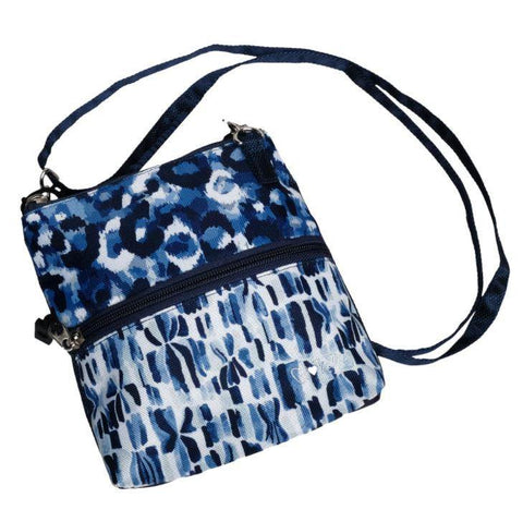 GloveIt 2021 Blue Leopard 2 Zip Carry-All Bag - Gals on and off the Green