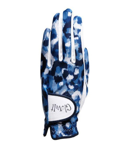 GloveIt 2021 Blue Leopard Glove - Gals on and off the Green