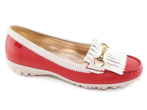 Marc Joseph Lexington Golf Red Grainy & Cream