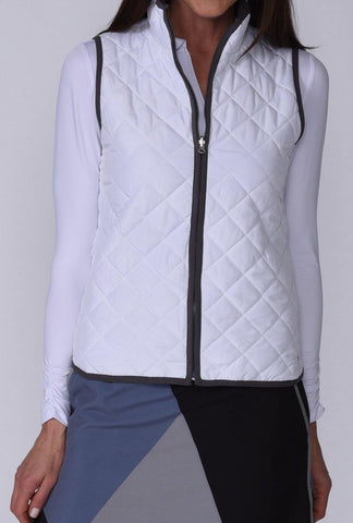 Golftini Quilted Reversible Wind Vest