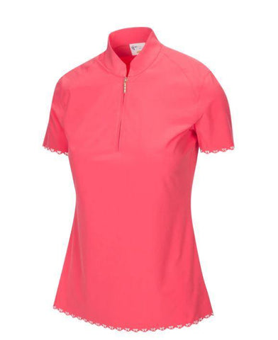 Greg Norman Metropolis Arise Zip Polo - Gals on and off the Green