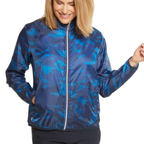GGBlue Carly Molly Navy Eclipse Jacket - Gals on and off the Green
