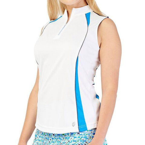 GG BLUE TURKS&CAICOS JOLIE SLEEVELESS TOP