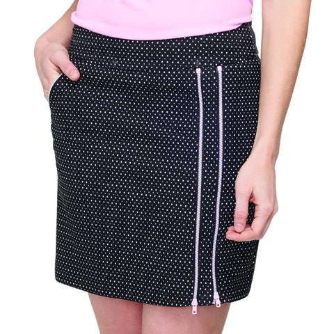 GG Blue Black Dahlia Striking Skort