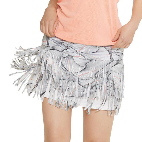GGBlue Divine Chic Fringe Skort - Gals on and off the Green