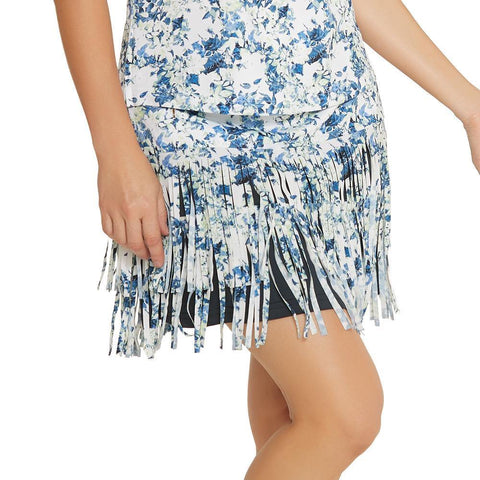 GGBlue Grace Fringe Skort - Gals on and off the Green