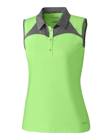 Cutter and Buck Eclipse ANNIKA Daily Sleeveless Polo