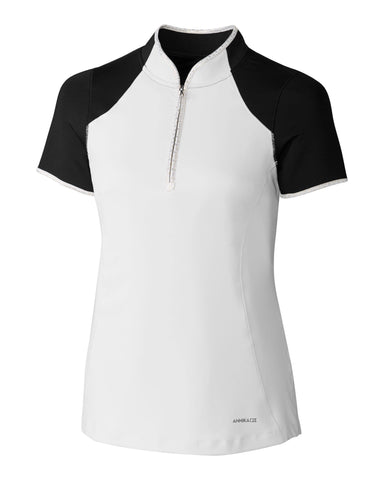 Cutter & Buck ANNIKA Prize Polish Mock Polo