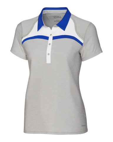 Cutter & Buck ANNIKA Hero Cap Sleeve Relay Polo