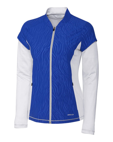 Cutter & Buck ANNIKA Hero Hybrid Flex Full Zip Jacket