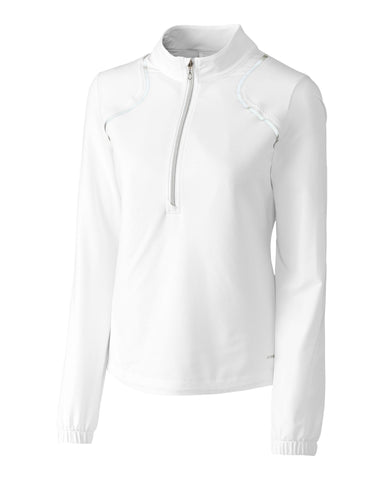 Cutter Buck Annika Christy Half Zip Windshirt Gals On And Off