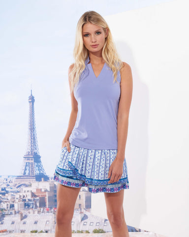 Lucky in Love Divine Pleat Tier Skort