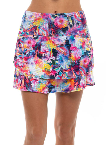 Lucky in Love Techno Tropic Skort (Short) - Gals on and off the Green