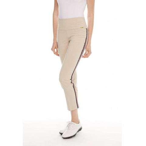 Swing Control Striped Masters Ankle Pant