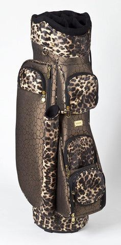 Cutler Monroe Leopard Golf Bag