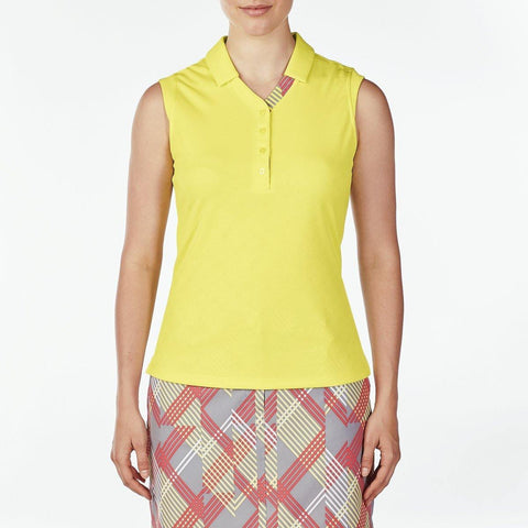 Nivo Glow Gigi Sleeveless Polo