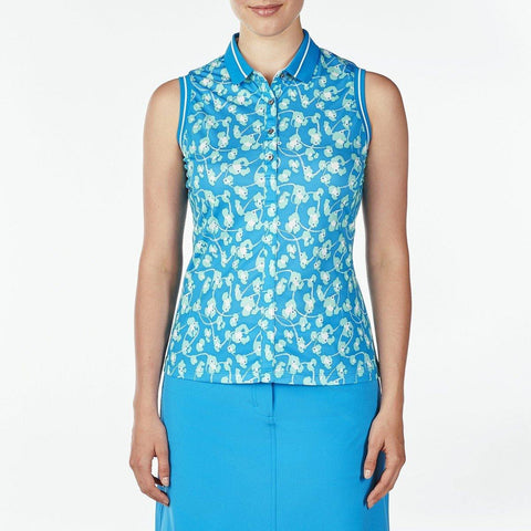 Nivo Destination Daisy Sleeveless Polo