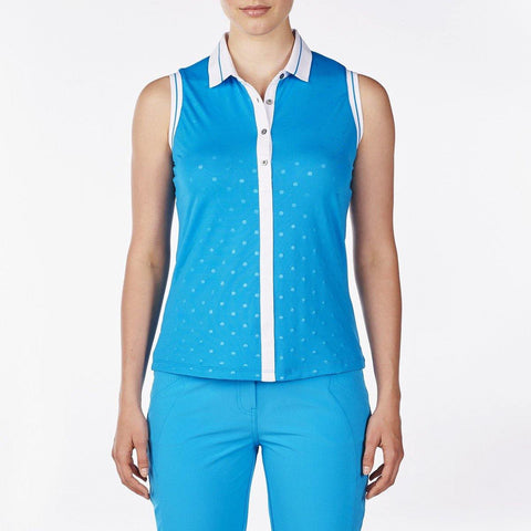 Nivo Destination Danni Sleeveless Polo - Gals on and off the Green