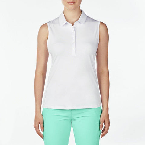 Nivo Destination Dana Sleeveless Polo - Gals on and off the Green