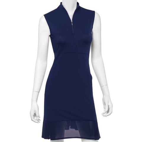 EP Pro Short Sleeve Blue Dress