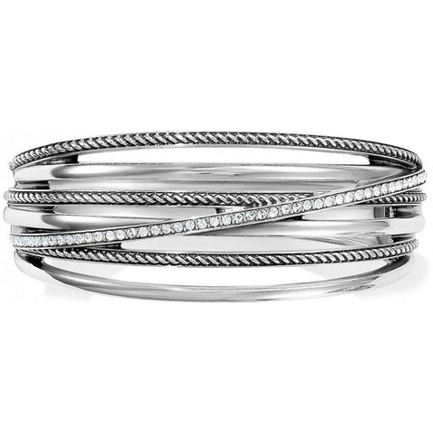 Brighton | Neptune's Rings Hinged Bangle