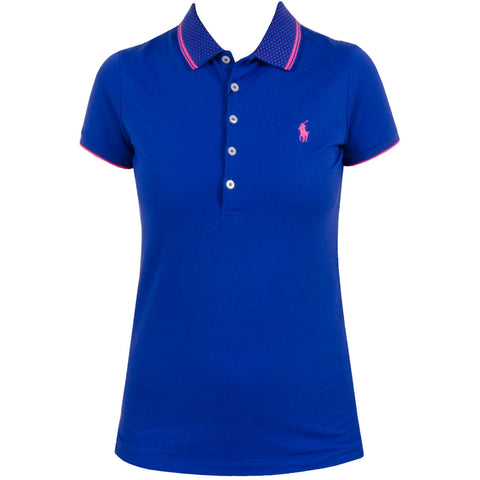 Ralph Lauren Womens Performance Pique Polo