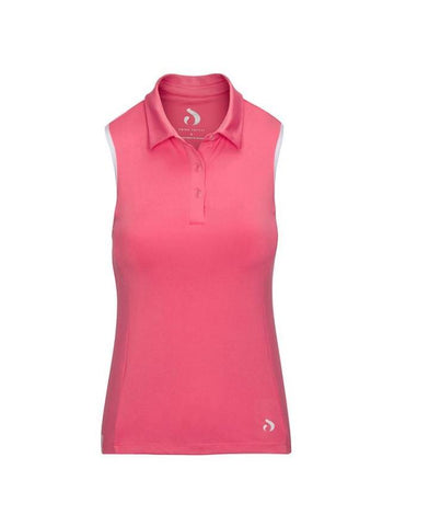 Swing Pretty Racerback Sleeveless Polo (Multiple Colors)