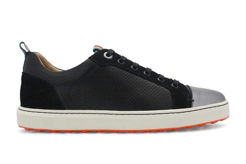 PREVIEW - Royal Albatross Amalfi Shoe in Black - Gals on and off the Green
