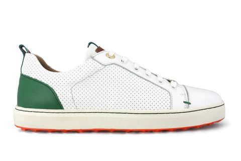 PREVIEW - Royal Albatross Amalfi Shoe in White - Gals on and off the Green