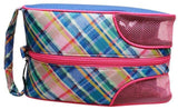 GloveIt 2021 Plaid Sorbet Shoe Bag - Gals on and off the Green