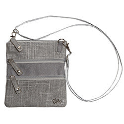 GloveIt Silver Lining 3 Zip Bag