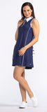 KINONA Summertime Swing Sleeveless Navy Dress - Gals on and off the Green