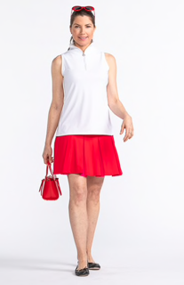 Kinona Pretty Pleat Golf Skort (Multiple Colors)